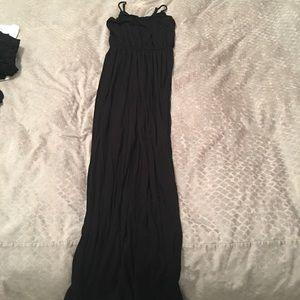 Lush (Nordstrom) Black Maxi Dress (S)